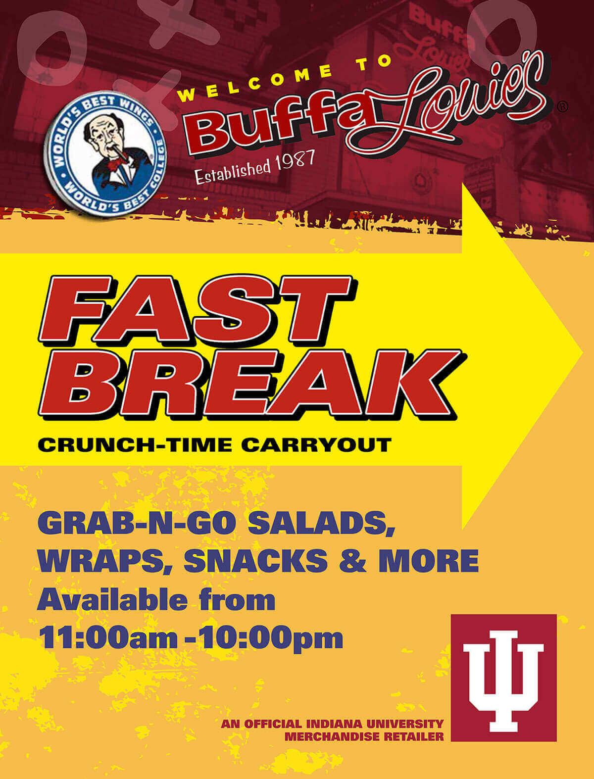 BuffaLouie's - Fastbreak - Crunch-Time Carryout